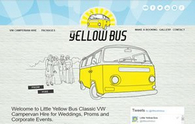 Little Yellow Bus web site example